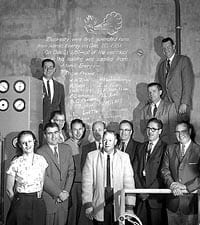 EBR I Team 1951 - Koch is 2nd from left