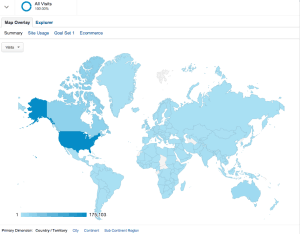 Atomic Insights visitors by country. Jan 1, 2013 - Dec 20, 2013