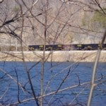 Coal Train near James River