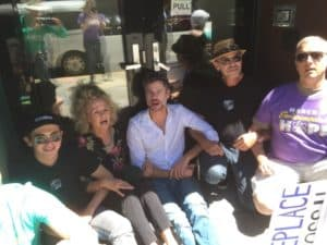 Gwyneth Cravens , Michael Shellenberger and friends lock and block traffic