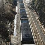 Open coal wagons