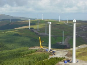 Cefn Croes Wind Farm Wales, UK