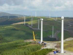 Cefn Croes Wind Farm Wales, UK