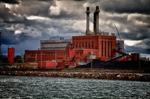 Dunkirk coal fired power station