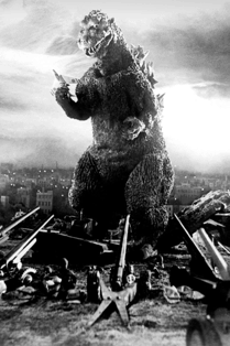 Godzilla, vintage 1954