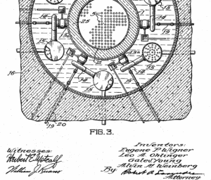 Figure 2. Patent for pressurized water reactor, signed by Weinberg