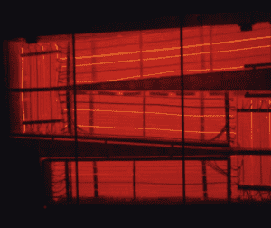 Figure 5. MSRE power was dissipated by this red-hot salt/air radiator.