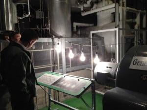 EBR-I lit four 200 Watt light bulbs