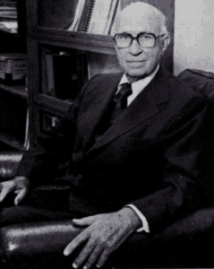 John H. Lawrence, M. D. 1980 Photo by LBL Photographic Services