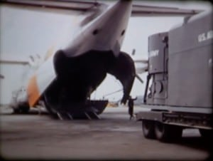 ML-1 Loading on Cargo Plane