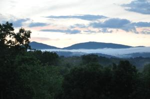 Southwest Virginia mountain view