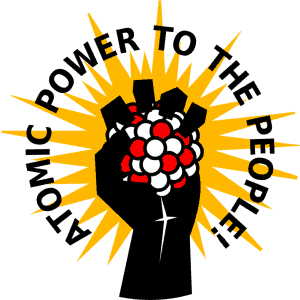 Power to the people button
