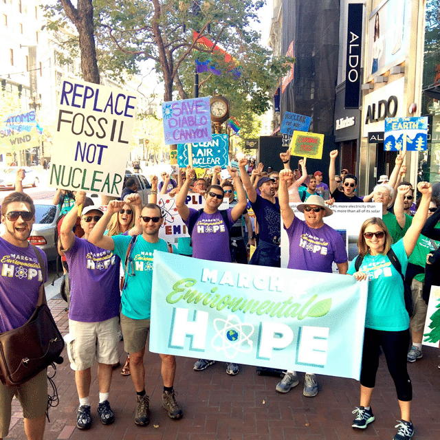 March for Environmental Hope San Francisco, CA  June 24, 2016