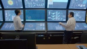 Engineers in TerraPower's reactor simulator Photo credit: David Schumacher
