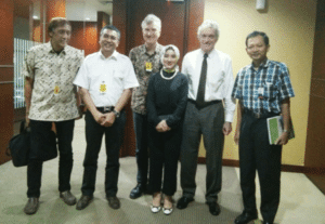 ThorCon executives with Indonesian project leaders