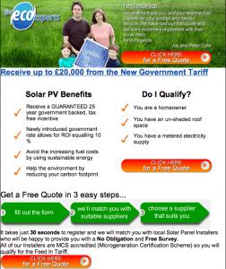 Generous Solar Subsidies