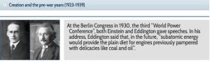 WEC Eddington 1930 prediction